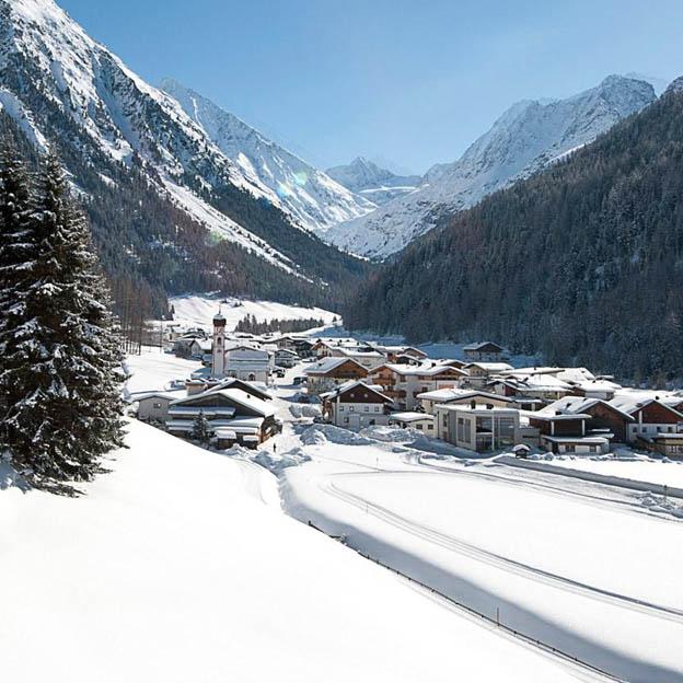 reis naar Tirol - Längenfeld