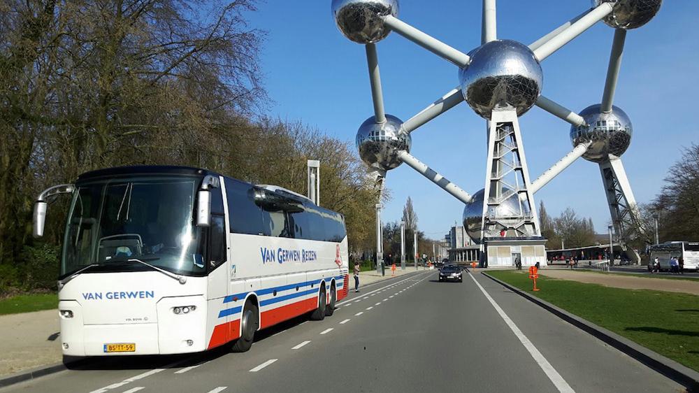 VanGerwen Munckhof bij Atomium in Brussel